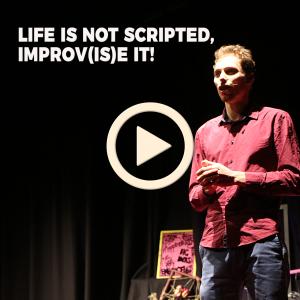 Life is not Scripted, Improv(is)e it! | Sébastien Nuñez | TEDxUniMelb